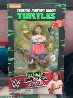 BRAND NEW IN BOX (AND SEALED) ⚡️ TEENAGE MUTANT NINJA TURTLES ROWDY PIPER MICHAEL ANGELO COLLECTIBLE