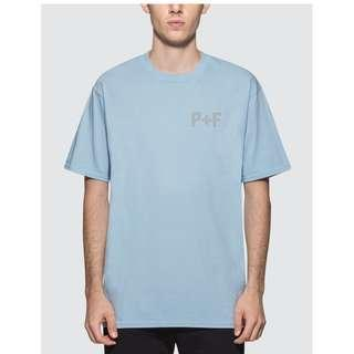 BRAND NEW <<SIZE M>> PLACES + FACES Logo Reflective T-Shirt