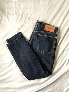 🚚 H&M skinny 牛仔褲 30X30