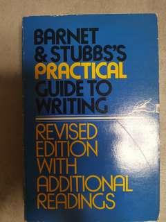 Barnet & Stubbs's Practical Guide to Writing, Little Brown Publisher