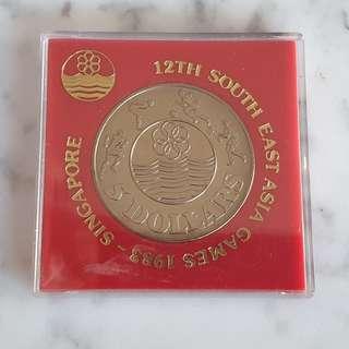 12th SEA Games 1983 $10 Coin