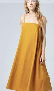 OSN tent dress (yellow mustard)