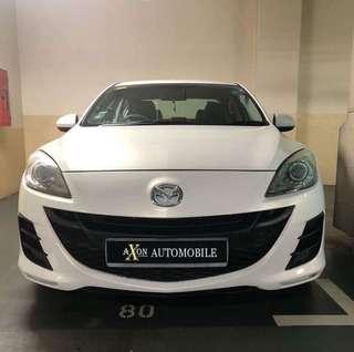 GOGOjek/Grab/Ryde/Tada/PersonalUsage Car Rental Mazda3 1.6 White