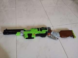 Nerf Gun Sling fire