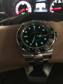 🚚 Rolex GMT II Black 116710LN GMT 2
