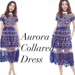 🚚 Smooch the label Aurora Collared dress Size M