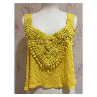 Yellow Top/ tanktop kuning