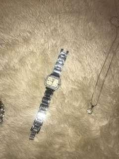 Silver Tommy Hilfiger womens watch
