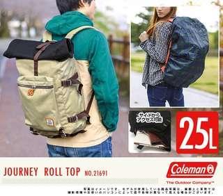 Coleman backpack bag 背包 背囊