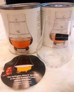 名牌DARINGTON威士忌杯一對