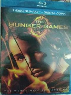 Bluray movie : the hunger games