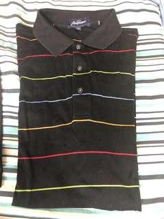 Jack Sicklaus striped polo