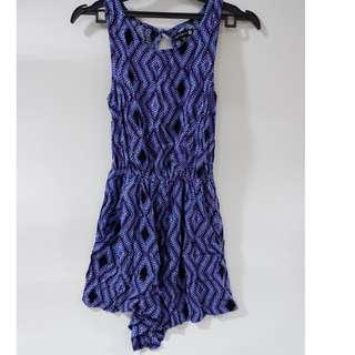 Jumpsuit Tribal (Blue)