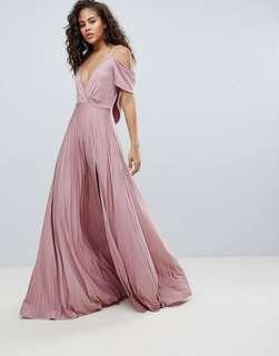 ASOS Bridal Bridesmaid Wedding Prom Maxi Dress