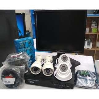 Complete Package CCTV Surveillance (Do it yourself installation)
