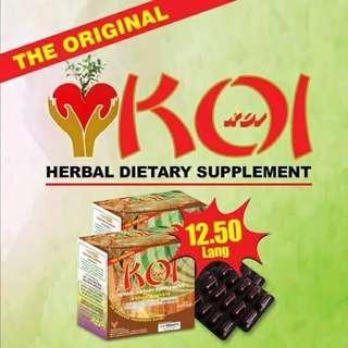 Koi Herbal Capsule 10's
