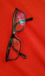 Kacamata baca (silinder dan minus) ori Rayban