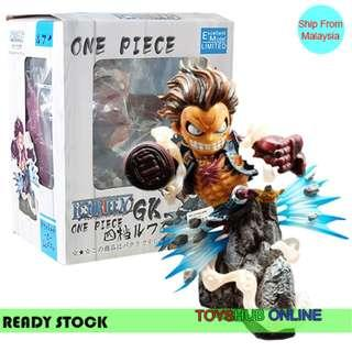 ONE PIECE Monkey·D·Luffy Action Figure Lifelike Depict High Quality 20cm High