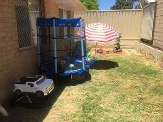 Trampoline - baby ford walker