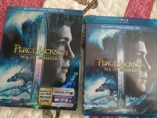 Bluray movie : percy jackson - sea of monsters