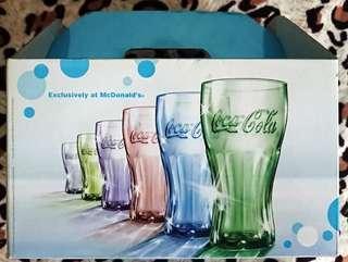 2009年 McDonald's X Coca Cola 炫彩曲線杯全套