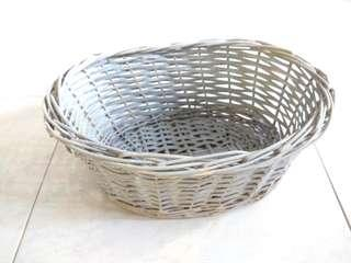New! Rattan Basket