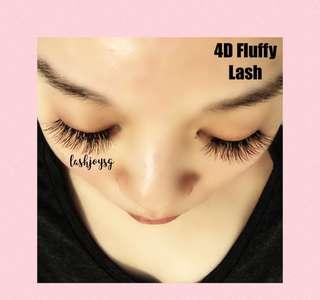 4D Natural Lashes Extensions