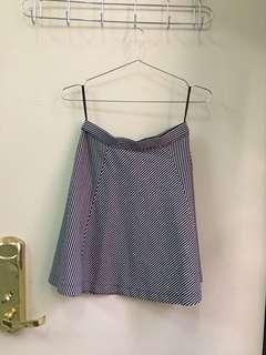 🚚 UNIQLO 條紋短裙