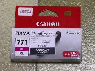 New Canon Ink Cartridge