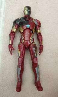 Marvel Legends Iron Man ironman battle damaged mark mk 46