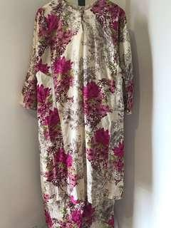 Baju Kurung Floral