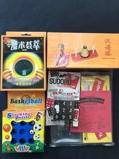 🚚 Sudoku, tower of Hanoi, Basketball geoboard