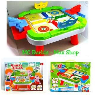Mainan Anak Ludo Giant Game 2-4 Players