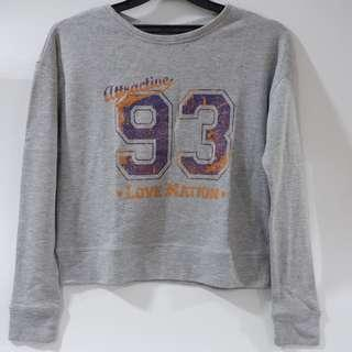 Gray Sport Sweater