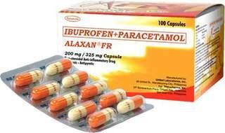 Alaxan FR capsule 10's