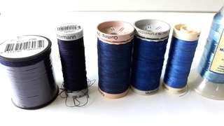 Sewing thread - Birch, Gutermann, Kreinik, Scansilk