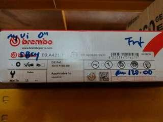 Myvi '06 Brembo Disc Rotor Front