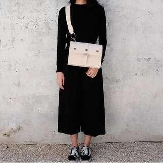 vreme bag ivory by local brand O/ P/ S/ Y (sling bag)