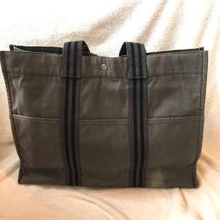 Hermes Tote Bag 帆布袋 旅行袋