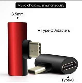 🚚 2in1charge while listen Type C adaptor charger n 3.5mm
