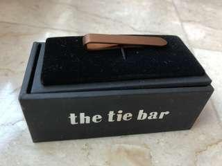 Rose gold tie bar (the tie bar)