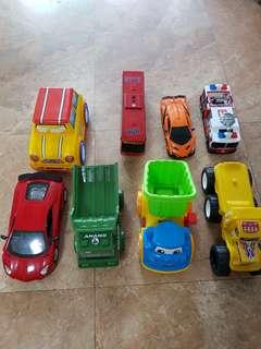 🚚 Toy Cars assorted