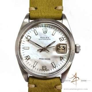 Rolex Mother of Pearl Dial Vintage Watch Ref 6694 (Year 1966)
