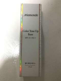 Mamonde colour tone up base (01 Green)