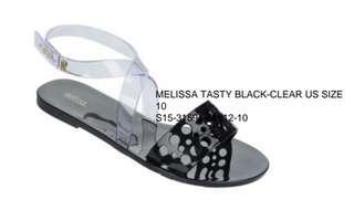 Melissa Black Sandals