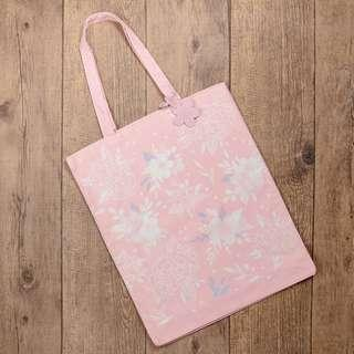 Starbucks 2019 櫻花 粉紅 可上肩大環保袋 可放A4 pink cherry blossom Sakura tote bag size L
