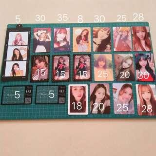 [WTS] GFRIEND TWICE PHOTOCARD