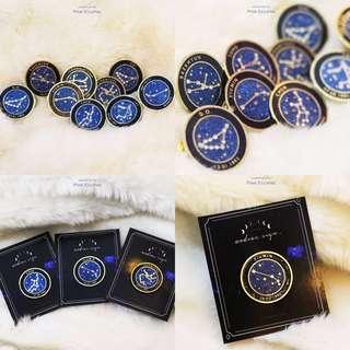 🚚 EXO Zodiac Sign Enamel Pin