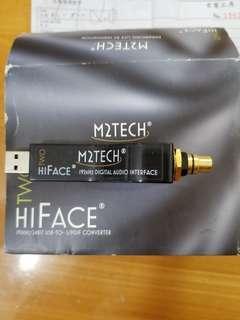 M2Tech hiFace USB