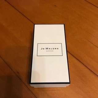 Jo Malone 香水100ml禮盒子